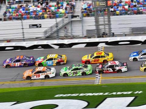 Race Recap for the Advance Auto Parts Clash