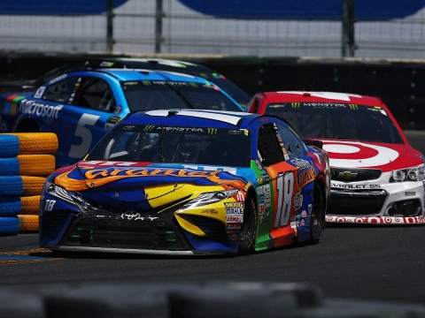 Race Recap for the Toyota/Save Mart 350k